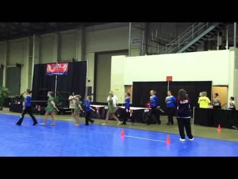 2013 AAU Junior Olympic Games - Baton Twirling Parade of Athletes