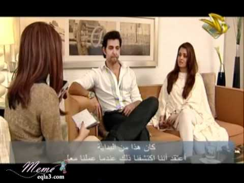 Aish & Hrithik interview on Zee Aflam