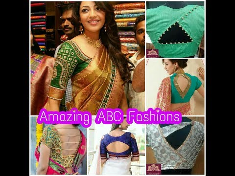New Blouse back, aari, maggam,Stylish,Celebrity Necklines, wedding Designes, Silk Saree blouses