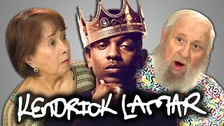 ELDERS REACT TO KENDRICK LAMAR (King Kunta, Swimming Pools)