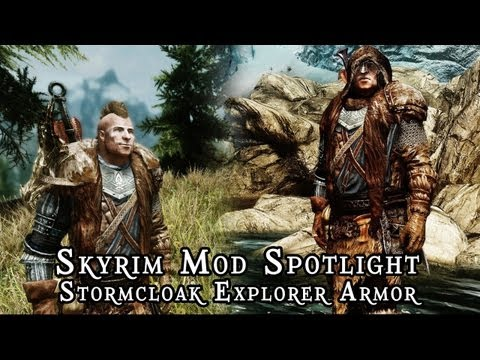 Skyrim Mod Spotlight: Stormcloak Explorer Armor