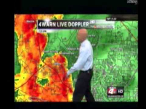 Arkansas Live EF-2 Tornado Coverage 4/25/2011 (Vilonia, AR Twister)