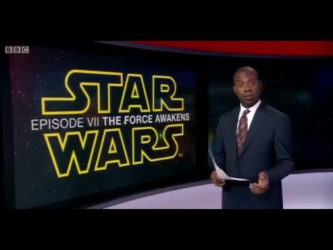 Star Wars The Force Awakens BBC Interview Daisy Ridley, John Boyega British Stars