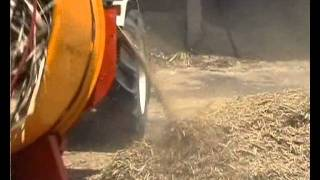Teagle Straw Mill Chopping Sugar Cane