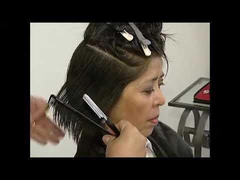 Corte de cabelo com navalha - Marie Jolie