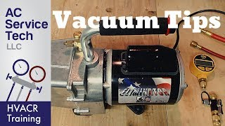 HVAC Tips to Avoid Vacuum Problems! Top 15!