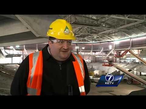 Exclusive look at new UNO arena