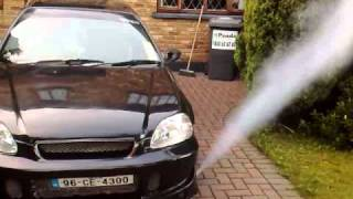 Co2 purge kit on honda civic