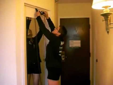 Tip for how to do P90X in a hotel room