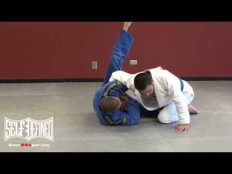 Handshake Sweep: Jiu Jitsu Bottom Half Guard Technique Image 1