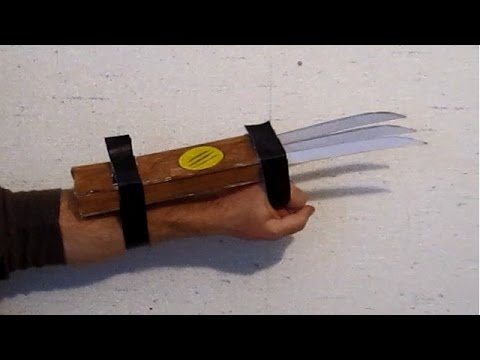 Make Wolverine Claws  That Work