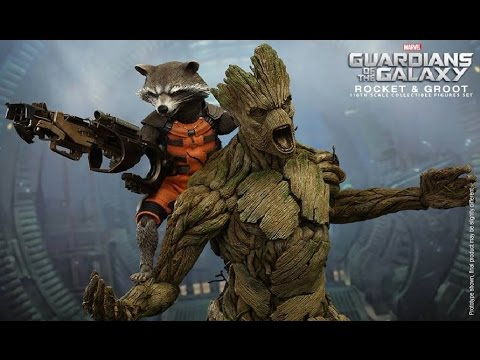 [PREVIEW] Hot Toys ROCKET & GROOT Guardians of the Galaxy / DiegoHDM
