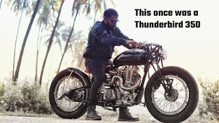 ONE OF A KIND   Customised Royal Enfield Bobber