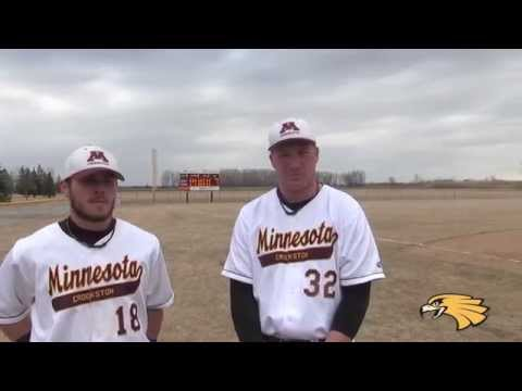 UMC Baseball Post-Game vs. Winona State (April 3, 2015)