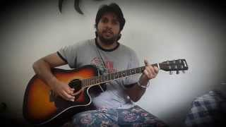 Hamein tumse pyar kitna acoustic cover