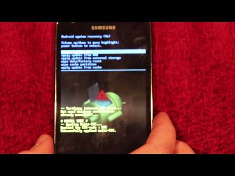 Samsung Galaxy S2 LTE How To Hard Reset/Factory Wipe