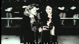 1944 16th Academy Awards Oscars Jennifer Jones Jack Warner Paul Lukas Charles Coburn Katina Paxinou