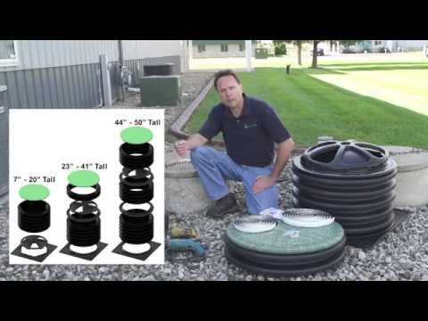 How to install septic tank risers  - DIY and Save!