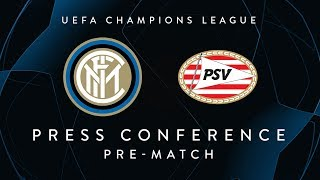INTER vs PSV | Pre-Match Press Conference LIVE | D'Ambrosio, Politano and Spalletti
