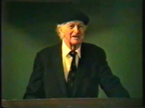 Dr. Linus Pauling on Vitamin C and Heart Disease Stanford Medical School - 27 Feb 92