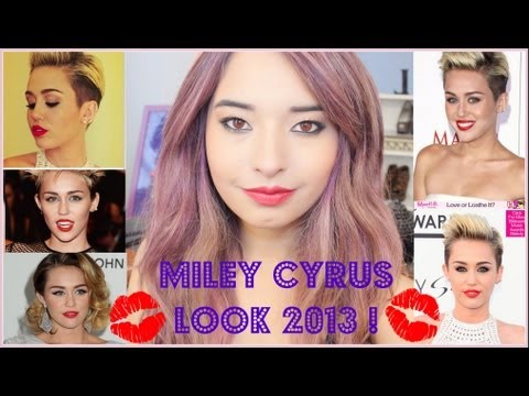 LOOK MILEY CYRUS MAKEUP TUTORIAL - MAQUILLAJE