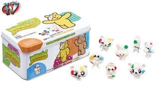 Moshi Monsters Children In Need Spotty Collection Tin Toy Review, Vivid