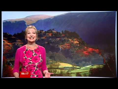 CAROL KIRKWOOD. BBC ONE  Breakfast -