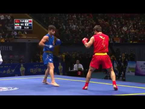 Sanda World Cup 2016 - Session 1 - Semi Finals.  English Commentary