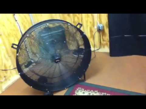 Utilitech drum fan