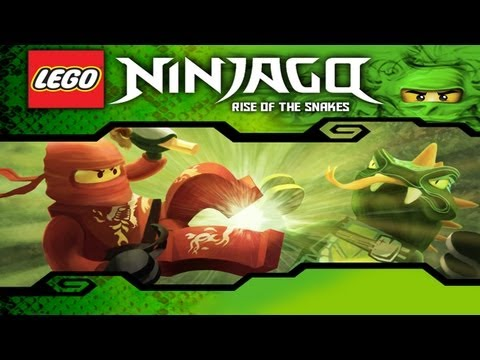 LEGO® Ninjago: Rise of the Snakes — iPad 2 — HD Gameplay Trailer