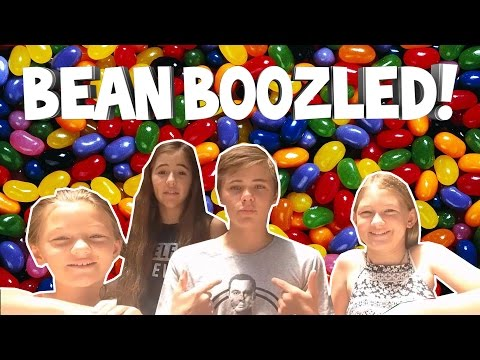 BEST BEAN BOOZLED CHALLENGE EVER w/ Cousins and Sister