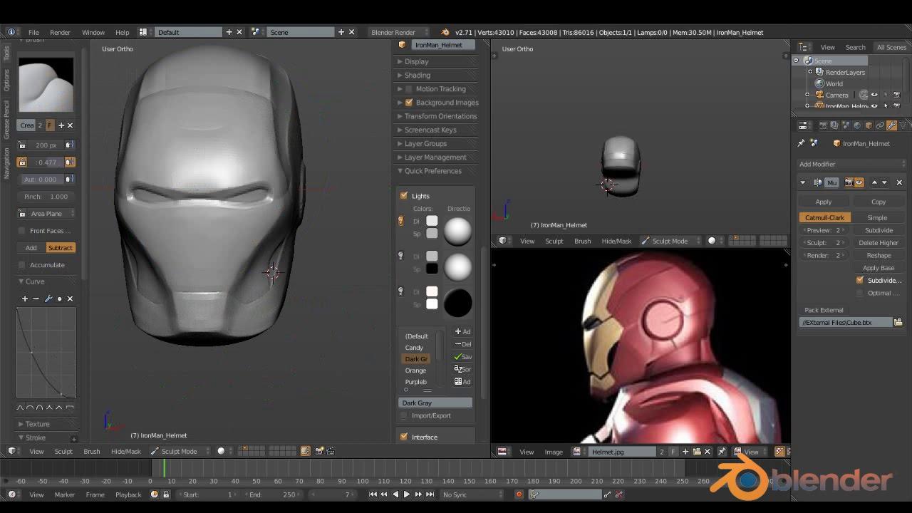 Iron Man Inside Helmet Photoshop Tutorial Iron Man Helmet