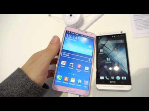 Samsung Galaxy Note 3 vs Htc