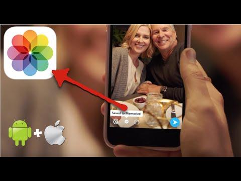 Memories   Save Snapchats To Camera Roll