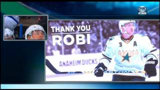 Stephane Robidas tribute in Dallas 12/23/14