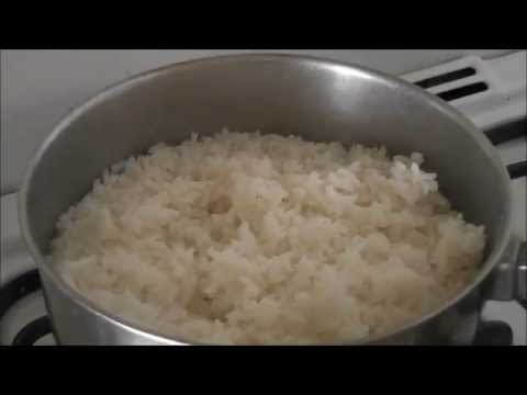 RECETA: COMO HACER ARROZ BLANCO, SUPER BASICO Y FACIL!! - HOW TO MAKE WHITE RICE, EASY RECIPE