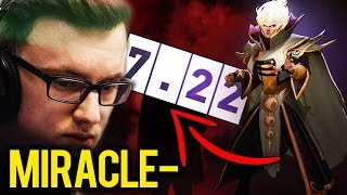 Miracle- First Time INVOKER on New 7.22 Gameplay Patch - Dota 2 EPIC Gameplay