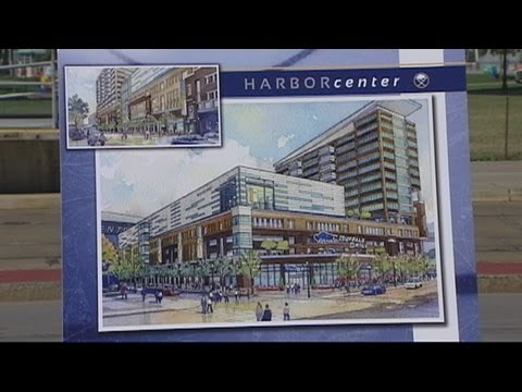 Pegula reveals vision for Harbor Center
