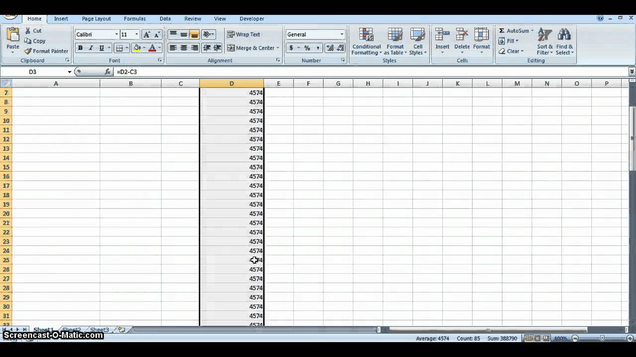 Library Budget Spreadsheet With Ms Excel Youtube