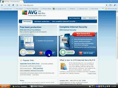 Where To Download Avg Free edition 8 5