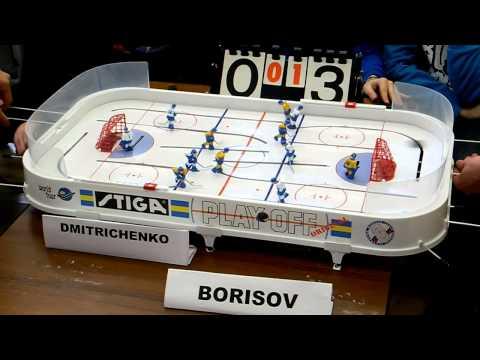 Table Hockey. Moscow Open 13.  Dmitrichenko-Borisov. Game 2