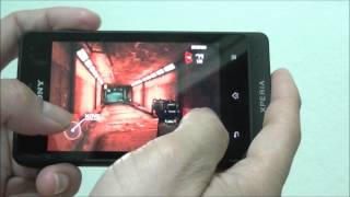 Sony Xperia Go Review Game Test part