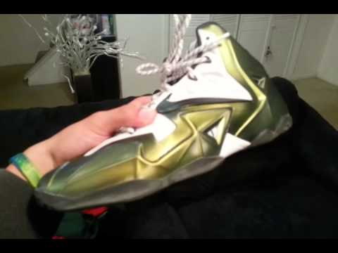 Lebron 11 Chroma Gold