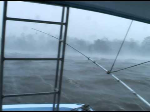 Surviving Katrina aboard the charter boat Quicksilver