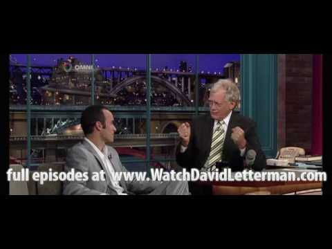 Landon Donovan in Late Show with David Letterman 2010-06-29 Video
