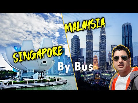 Malaysia to Singapore by Road || Border Crossing & Complete Guide