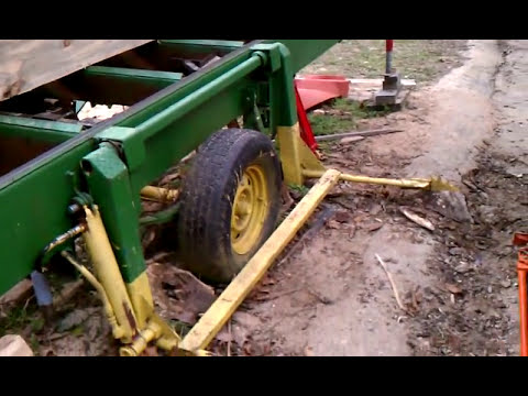 SAWMILL homemade 13HP engine-log lift