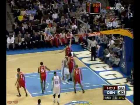 Houston Rockets Highlights vs. Nuggets 3/9/2009