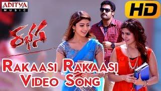 Rakaasi Rakaasi Full Video Song     Rabhasa Video Songs    Jr Ntr, Samantha, Pranitha
