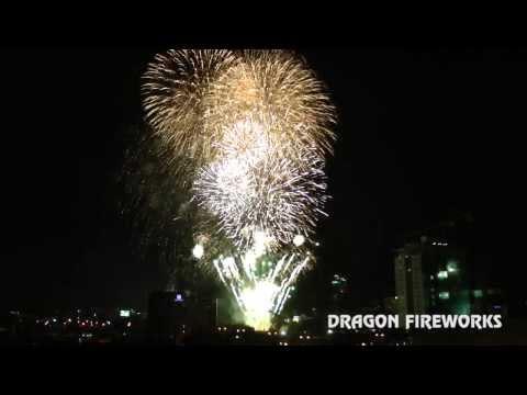2014 Sinulog Symphony of Fire Pyromusical at the Ayala Center, Cebu City